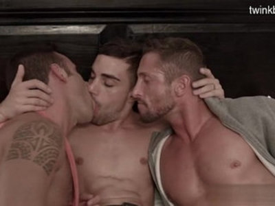 Aesthetic gay oral sex with pretty handjob boyfriends